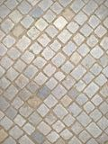 Cobble Stones Street Slant Paving Background Royalty Free Stock Images