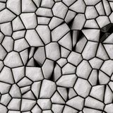 Cobble stones surface. Abstract surface made from grey cobble stones Stock Photos