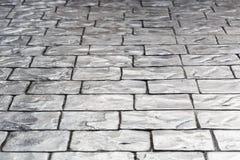Cobble stones. Texture of cobble stones background stock photo