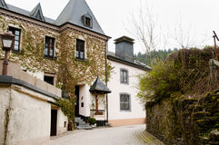 Cobble Street - Clervaux - Luxembourg Royalty Free Stock Photography