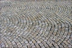 Cobble walkway texture Royalty Free Stock Photos