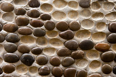 Cobble wall Stock Photo