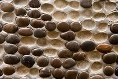 Cobble wall Stock Photo