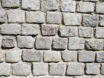 Cobble wall Stock Photography