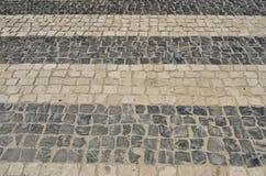 Cobble zebrapad Stock Afbeelding