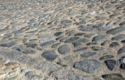 cobbled дорога Стоковые Изображения