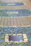 Cobbled поверхность Стоковая Фотография RF