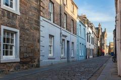 cobbled старая улица стоковая фотография