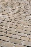 cobbled улица Стоковое Изображение RF