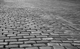 cobbled улица Стоковые Фотографии RF