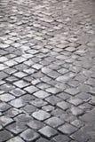 cobbled улица стоковая фотография rf