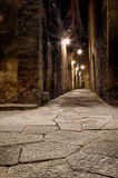 Cobbled alley in Florence Royalty Free Stock Image