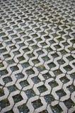 Cobbled Boden stockbilder