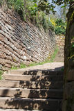 Cobbled path Royalty Free Stock Photography