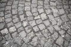 Cobbled path texture Royalty Free Stock Photography