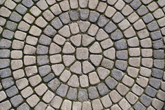 Cobbled pavement Stock Photo