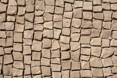 Cobbled pavement background. Or texture stock photography