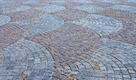 Cobbled pavement Royalty Free Stock Image