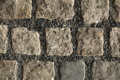 Cobbled Pavement Texture Royalty Free Stock Images