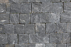 Cobbled Pavement Texture Stock Photography