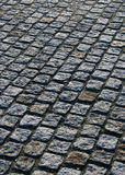 Cobbled paving No.1. Concept picture of a cobble stone pavment Stock Photography