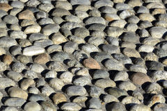 Cobbled que pavimenta (rizzada) Fotografía de archivo libre de regalías