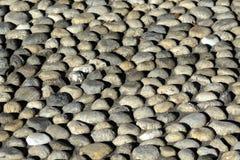 Cobbled que pavimenta (rizzada) Foto de archivo libre de regalías