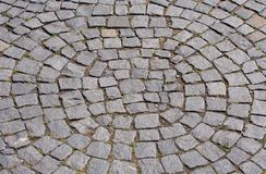 Cobbled Road Royalty Free Stock Images