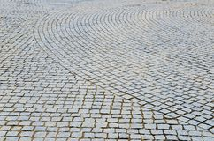Cobbled road Royalty Free Stock Photos
