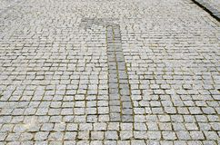 Cobbled road Stock Photos
