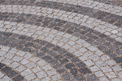 Cobbled road Stock Photography