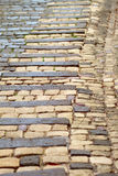 Cobbled road. A cobbled road (footpath Stock Photo