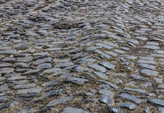 Cobbled Road - Detail Royalty Free Stock Photos