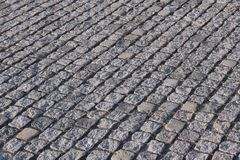 Cobbled square Stock Images