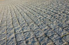 Cobbled square texture Stock Photo