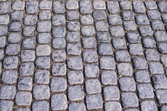 Cobbled stone background Stock Photography