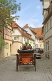 Cobbled stone carriage ride Stock Photography