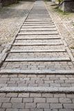 Cobbled Stone Steps Stock Photo