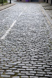 Cobbled Stone Street, Liverpool, Royalty Free Stock Photo