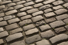 Cobbled Stone Street, Uzes, Provence, France Royalty Free Stock Photography