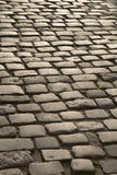 Cobbled Stone Street, Uzes, Provence, France Royalty Free Stock Photos