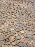 Cobbled Straße Lizenzfreies Stockbild