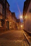 Cobbled Straße Lizenzfreie Stockfotografie