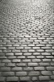 Cobbled street. Cobbled stone street in europe royalty free stock photo