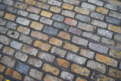 Cobbled Street Royalty Free Stock Photos