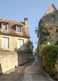 Cobbled street in Aquitaine Stock Photography