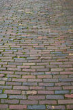Cobbled street. Royalty Free Stock Photo