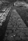 Cobbled street Stock Images