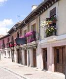 Cobbled street in Burgos Royalty Free Stock Photo