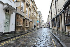 Cobbled Street. General view of an old cobbled street in the city centre on October 5, 2012 in Bath, UK. Bath is one of the UK's top tourist destinations with 4 Stock Photos